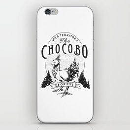 Chocobo Forest - Vintage iPhone Skin