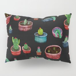 dark little cactus in pockets Pillow Sham