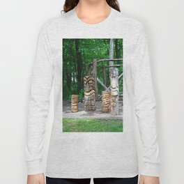 Totems on Put-in-Bay Long Sleeve T-shirt