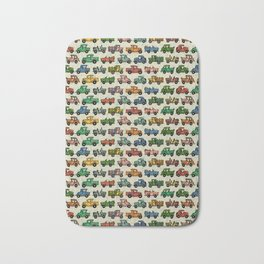 Cars and Trucks Bath Mat