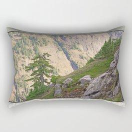 SHUKSAN ARM IN MORNING LIGHT FROM KULSHAN RIDGE Rectangular Pillow