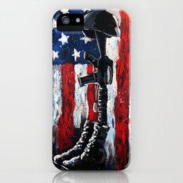 Battlefield Cross War Memorial iPhone Case
