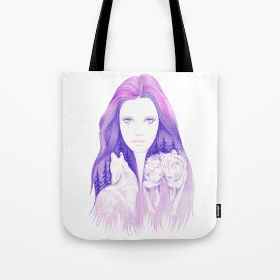 Wolf Spirit Tote Bag