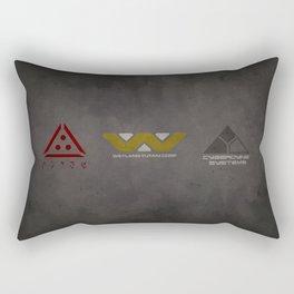 Aliens, Predator, & Terminator Rectangular Pillow