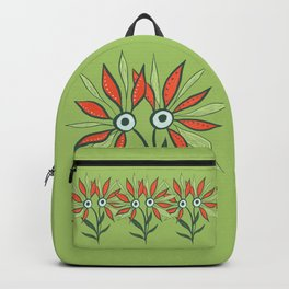 Cute Eyes Flower Monster Backpack