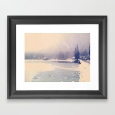 Magic winter Framed Art Print