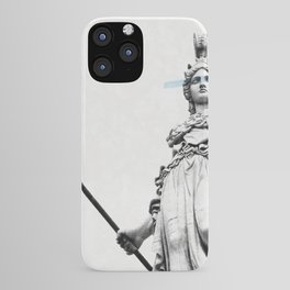 Athena the goddess of wisdom iPhone Case