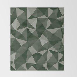 Geometric pyramids V8 Throw Blanket