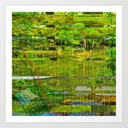 Landscape of My Heart (segment 3) Art Print