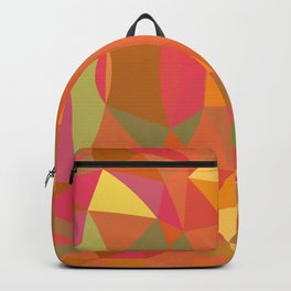 Summer Colors Modern Abstract Backpack