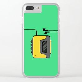 Walkman Clear iPhone Case