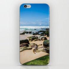Beach and Rocks iPhone & iPod Skin