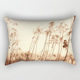 Fields aflame Rectangular Pillow