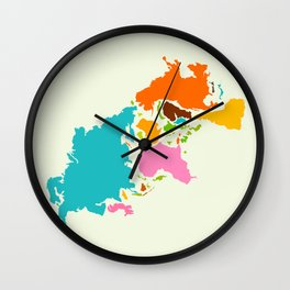 You are here and there Wall Clock