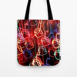 Light Circles Tote Bag