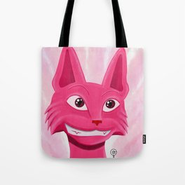 Lollipop the pinky cat Tote Bag