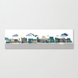 City Streets Canvas Print
