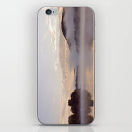 Into the Mists of Dawn: Sunrise on Lake George iPhone Skin