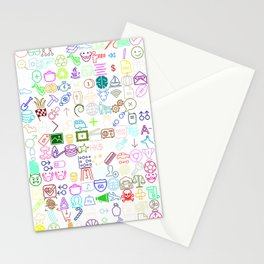 ICONS Overdrive, Color Stationery Cards