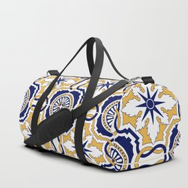 Portuguese Tiles Duffle Bag