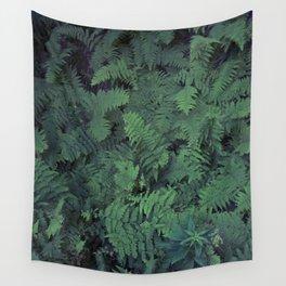 Fern Leaf Pattern Wall Tapestry
