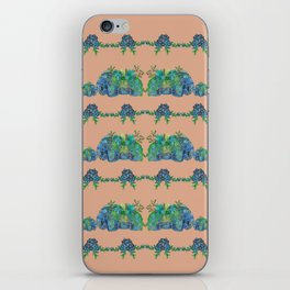 Large Succulent Elephant Family iPhone Skin