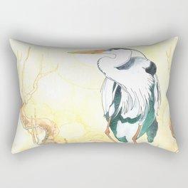 The Heron Rectangular Pillow