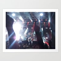 all time low Art Prints featuring All Time Low - 3 by ijsw