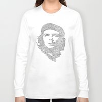 che Long Sleeve T-shirts featuring Che by Rui Faria