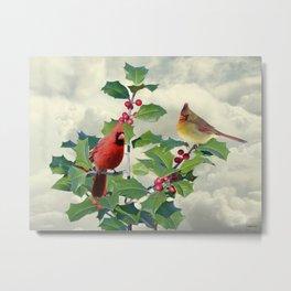 Spade's Cardinals Metal Print