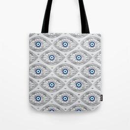 Greek Mati Mataki - Matiasma Evil Eye Pattern #3 Tote Bag