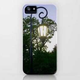 Sunset Lamppost iPhone Case