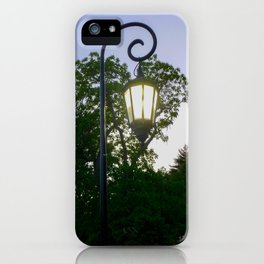 Sunset Lamppost iPhone Case