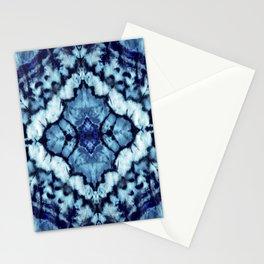 Tie Dye Linen Ikat Stationery Cards
