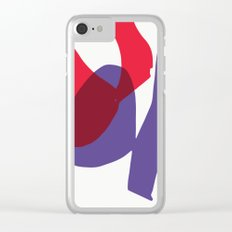 Matisse Shapes 9 Clear iPhone Case