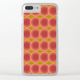 zappwaits retro Clear iPhone Case