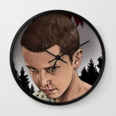 Eleven Stranger Things Wall Clock