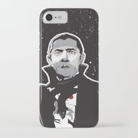dracula iPhone & iPod Cases featuring Dracula by Matt Fontaine