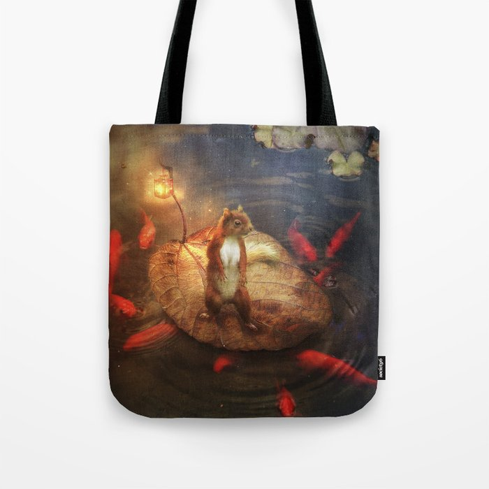 Columbus the Squirrel Tote Bag