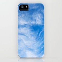 Cirrus Clouds 5 iPhone Case