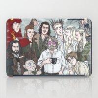 hobbit iPad Cases featuring Hobbit Party by enerjax