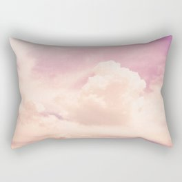 Freedom and Dreams, Pink Sky and Clouds, Heaven Rectangular Pillow