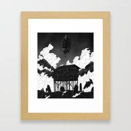 Fate has no compass. Framed Art Print