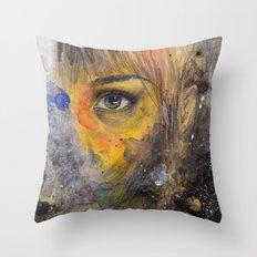 Ojo Throw Pillow