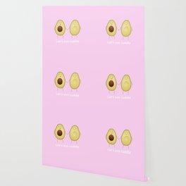 Let's avo cuddle | Pink Wallpaper
