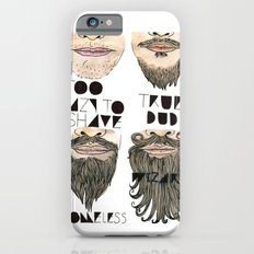the beard chart of dudeliness Slim Case iPhone 6s