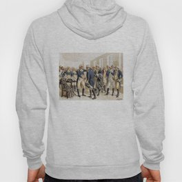 Washington's Farewell to Officers by H.A. Ogden (1893) Hoody