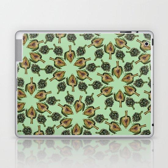 Swirling Artichokes Laptop & iPad Skin