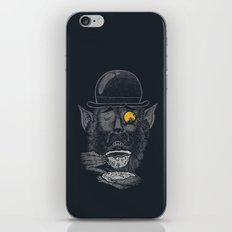 a british gentleman werewolf  iPhone & iPod Skin