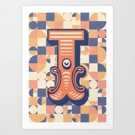Letter I Art Print